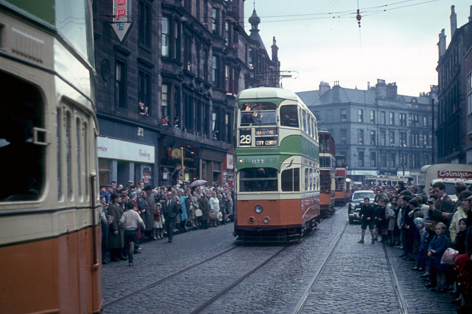Exhibition Display System : Glasgow tram preserved trams from